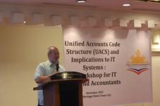 UACS workshop for IT and accountants